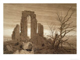 Winter Giclee Print by Caspar David Friedrich