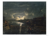 Binnenalster, 1764 Giclee Print by Jens Juel