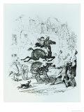 Turpin's Ride, Giclee Print - Cruikshank