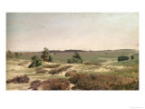The Heath Near Wilsede, 1887 Giclee Print by Valentin Ruths