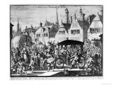 The Assassination of Henri Iv Giclee Print by Caspar Luyken
