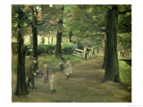 The Avenue Giclee Print by Max Liebermann