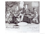 Concert Ticket For Mary's Chapel Giclee Print by William Hogarth