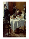 The Breakfast, 1868 Giclee Print by Claude Monet
