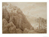 Autumn Giclee Print by Caspar David Friedrich