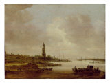 View from Rhenen Giclee Print by Jan Josephsz. Van Goyen