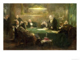 The Meeting of the Board of Directors, 1900 Giclee Print by Ferdinand Brutt