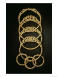 Gold Bracelets from the Ertsfield Treasure, 4th Century Ad Giclee Print by  Celtic