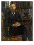 Portrait of Dr Edward Meyer Giclee Print by Lovis Corinth