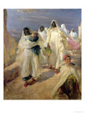 Tunisian Women Giclee Print by Edgar Bundy