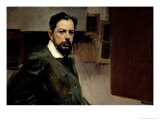 Self Portrait Giclee Print by Joaqu&#237;n Sorolla y Bastida