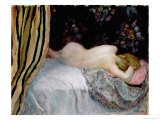 Sleeping Woman Giclee Print by Henri Lebasque