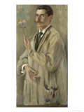 The Painter Otto Eckmann Giclee Print by Lovis Corinth