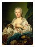 Maria-Barbara de Braganza Giclee Print by Jacopo Amigoni
