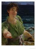 Una Carita, 1883 Giclee Print by Sir Lawrence Alma-Tadema