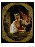 Russian Beauty, 1865 Giclee Print by Konstantin Egorovich Makovsky