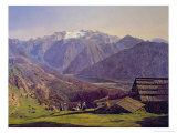 Hallstatter-See Giclee Print by Ferdinand Georg Waldmuller