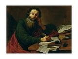 St. Paul the Apostle Giclée-Druck von Claude Vignon