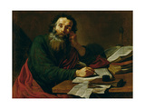 St. Paul the Apostle Giclee Print by Claude Vignon