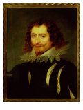 Portrait of George Villiers Giclee Print by Peter Paul Rubens