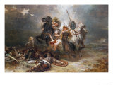 In Death There's Victory Giclee Print by Robert Alexander Hillingford
