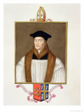Portrait of Stephen Gardiner Reproduction procédé giclée par Sarah Countess Of Essex