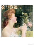 The Golden Hour Giclee Print by Sir Lawrence Alma-Tadema