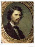 Self Portrait, 1867 Giclee Print by Ivan Nikolaevich Kramskoy