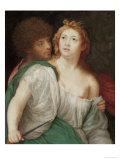 Portrait of Tarquin and Lucretia Giclee Print by Peter Oliver
