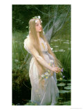 Ophelia Giclee Print by Jules Joseph Lefebvre