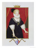 Portrait of Lady Catherine Grey Giclee Print by Sarah Countess Of Essex