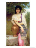 At the Well Giclee Print by Charles Edward Perugini