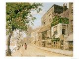 Cheyne Walk, Chelsea, 1857 Giclee Print by Walter Greaves