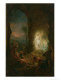 The Resurrection, 1763 Giclee Print by Johann Heinrich Tischbein