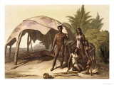 The Charrua Indians of Uruguay Giclee Print by Gallo Gallina