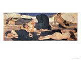 Night, 1890 Giclee Print by Ferdinand Hodler