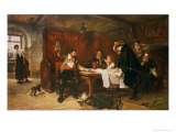 The Buccaneer's Story Giclee Print by Robert Alexander Hillingford