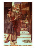 The Parting Kiss Giclee Print by Sir Lawrence Alma-Tadema