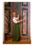 Child at the Door, from the Sala a Crociera, c.1561 Giclée-Druck von Paolo Veronese