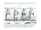 In Such Attire Did 800 Irishmen Giclee Print by Georg Koler