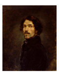 Self Portrait, c.1842 Giclee Print by Eugene Delacroix