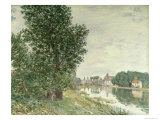 Moret-Sur-Loing, 1892 Giclee Print by Alfred Sisley