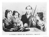 The Bronte Family Giclee Print by Patrick Branwell Bronte