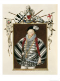 Portrait of Sir Henry Lee Reproduction procédé giclée par Sarah Countess Of Essex
