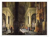 Interior of a Temple, 1652 Giclee Print by Anthonie Delorme