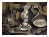 Still Life with Three Handles Giclee Print by Roger de La Fresnaye