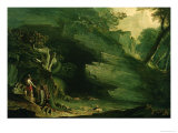 Cadmus and the Dragon Giclee Print by John Martin