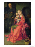 The Holy Family, c.1480-90 Giclee Print by Martin Schongauer