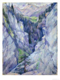 Ravine at Pians, 1921 Giclee Print by Anita Ree