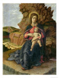 Madonna of the Cave, 1488-90 Giclee Print by Andrea Mantegna